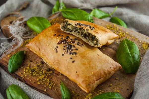 Samsa Spinati -ja Feta juustuga